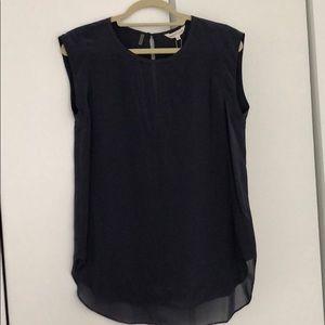 Rebecca Taylor Solid Silk Charlie Shirt NBW